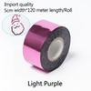 Luz roxa-5 centímetros de largura * 120 metros
