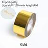 Золото-ширина 5см*120 метров