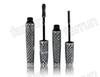 no logo 3D waterproof mascara cream, 2 in 1 lengthening cruling thick eye black in 3 color gift case, beauty makeup welcome OEM