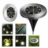 ledstar 8 LEDs Solar Powered Waterproof Light for Home Yard Driveway Lawn Road Ground Deck Garden Pathway