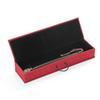 Rote Halskette Schachtel
