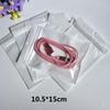 White Clear Valve Resealable Zipper Plastic Retail Packaging Poly Bag, Ziplock Zip Lock Bag Retail Storage W  Hang Hole