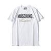19ss Summer New Moschin O Tee Cotton Short Sleeve Breathable Men Women t shirt Moschinos Swing Bear Casual Outdoor Streetwear T-shirts 870