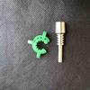 ponta 10 milímetros de titânio + verde clipe