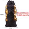 Single shoulder, 25 balls capacity