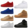 7b0102aa7d4 mens sneakers one 1 designer running shoes for women Fly dunk low high cut triple  white black Red wheat Outdoor Jogging Sports Tennis