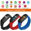 M4 Smart Band Wristband Heart rate Blood Pressure Heart Rate Monitor Pedometer Sports Bracelet PK M3 Health Fitness bracelet PK Mi band 4