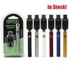 LO Preheat Battery Starter kit Co2 Oil vape Variable Voltage 510 Thread Adjustable VV 350Mah e cigarette Batteries