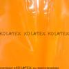 orange avec gaine noire
