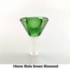 14 мм мужской зеленый алмаз