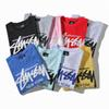 NEW 19SS mens designer t shirts Stussy personality designer shirt thrasher printing trend short-sleeved T-shirt casual cotton tee m-2xl