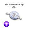 3W الأرجواني 365NM LED رقاقة