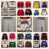 Cheap Wholesale JustManDonMens Stitched Shorts Top Quality MensPocket Shorts Size S M L XL XXL Free Shipping