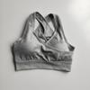 gray bra