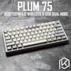 Plum 75 NIZ Electro Capacitive Keyboard Bluetooth 4.0 wireless & USB Dual Mode EC keyboard 84 key programable 45g pbt cherry