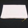 Weiß mit weiß-gold Reißverschluss