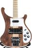 Rare 4003W Natural Walnut Bass 4 strings bass WALNUT body vintage ric 4003 Electric Bass Guitar Neck Thru Body One PC Neck & Body New Hot
