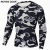 603335936 Refire Gear Quick Dry Outdoor T-Shirt Men Tactical Camouflage T-shirts  Coolmax Sport