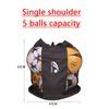 Single shoulder, 5 balls capacity