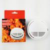Smoke Detector Alarms System Sensor Fire Alarm Detached Wireless Detectors Home Security High Sensitivity Stable LED 85DB 9V Battery