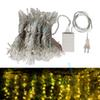 3*3m LED Window Curtain String Light net lights Icicle Light String 8 Modes Fairy Lights home party Wedding Christmas