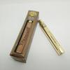 Brass Knuckles Vape Pen Battery - 650mah 900mah Gold Wooden Adjustable Preheating Voltage Variable VV 510 Batteries