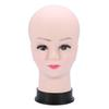 Female Manikin Model Making Styling Practice Hairdressing Bald Mannequin Head Hat Headwear Display Make Up Tools NO WIG STAND