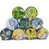 Cartoon herb Grinder 9 colorful patterns layers Zinc Alloy 4 Layers 40 50 55 63mm Tobacco Crusher for smoking Metal Grinders Factory Price