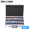 الزرقاء 35PCS / مجموعة