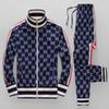 19ss year sportswear jacket suit fashion running sportswear Medusa men's sports suit letter printing clothing tracksuit sportsJacket sp