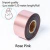 Роза розовая-ширина 5см*120метр