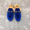 Bleu + velours