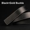 Boucle noir + or