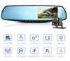 Car DVR Dual Lens Car Camera Full HD 1080P Video Recorder Rearview Mirror With Rear view DVR Dash cam Auto Registrator