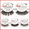 By ePacket! 15 styles RED CHERRY False Eyelashes Natural Long Eye Lashes Extension Makeup Professional Faux Eyelash Winged Fake Lashes