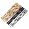 high quality stainless steel replacement strap for L2 brand Wrist band with butterfly clasp