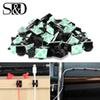 100 50 10pcs Adhesive Car Cable Clips Cable Winder Drop Wire Tie Fixer Holder Cord Organizer Management Desk Tie Clamps