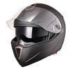 Motorcycle Helmet Flip Up Full Face DOT with Double Visors - X-Large