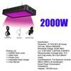 2000W SMD3030 LED crece la luz