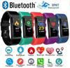 ID 115Plus Smart Fitness Bracelet Tracker 115 plus Colorful Screen Blood Pressure Heart Rate Monitor Women Watch for iphone xiaomi