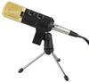 GBTIGER BM - 100FX USB Condenser Sound Recording Microphone with Stand for Radio Braodcasting