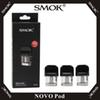 SMOK Novo Pod 2ml Capacity Refillable Vape Cartridges With 0.8ohm Mesh 1.4ohm Ceramic & 1.2ohm Coils For Novo Kit