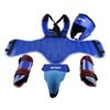 Training Equipment Boxing Protective Gear Brand PU Leather Sanda 4pcs Set Thick Head Guard Chest Protector Jockstrap Leg Shield