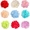 "Hydrangea head 50 pieces 6"" stems with hydrangea decorate for flower wall fake flowers diy home decor"