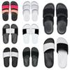 fashion good quality men women designer slippers BENASSI black white red striped sandals causal Non-slip summer slippers flip flops slipper