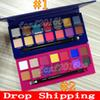 Newest Brand eyeshadow palette ALYSSA EDWARDS palette RIVIERA 14 colors Eye shadow shimmer matte eyeshadow palette free DropShipping