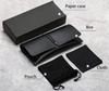 أسود حالة + مربع + قطعة قماش + الحقيبة