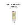 G4 7W AC220V 75LED