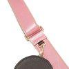 핑크 어깨 끈