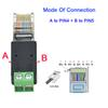 A para Pin4 B para pin5